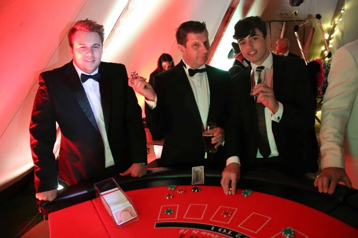 fun casino hire for christmas parties