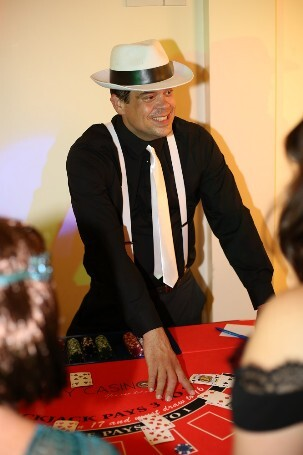 casino croupier hire