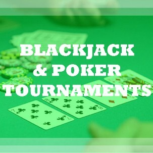 Raise money with a blackjack tournament