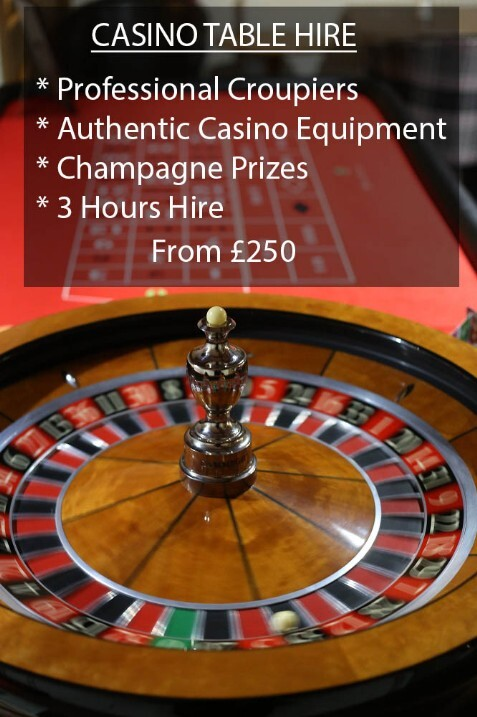 Casino Table Hire North Wales & Cheshire Party Casinos