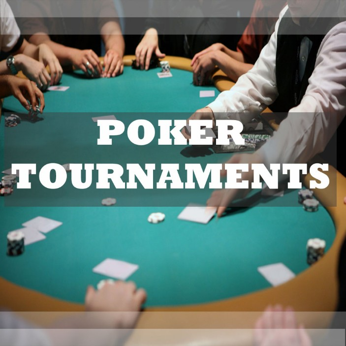 Play poker for fun in a poker tournament