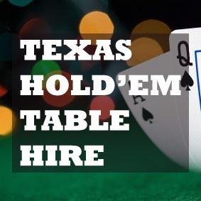 Casino party hire warrington