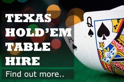 Casino table hire cheshire nj